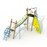 module de jeu à grimper E580-R-02 de Play Outdoor
