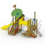 module de jeu pour enfants de la gamme jeux à thème de Play Outdoor F0191-R-02