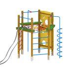 module de jeu à grimper S206-R-02
